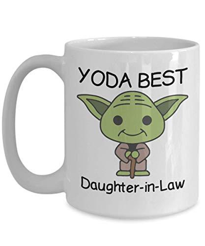 Yoda Best Daughter-in-Law - Novelty Gift Mugs for Birthday...
