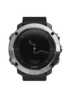 Suunto TRAVERSE SS021843000 Orologio GPS per l'Outdoor Ideale per Escursionismo e Trekking, Fino a 100 Ore di Durata della Batteria, Resistente all'Acqua, Nero