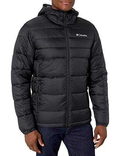 Columbia Men's Buck Butte Insulated Hooded Jacket, Black , X-Large