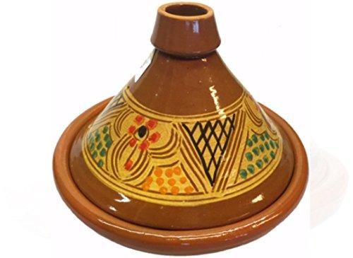 Grande Tajine marocchina da cucina, diametro: 30 cm, senza piombo