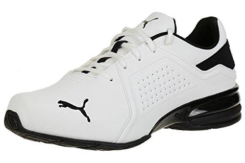 PUMA Viz Runner, Zapatillas de Running para Hombre, Blanco White Black, 44 EU