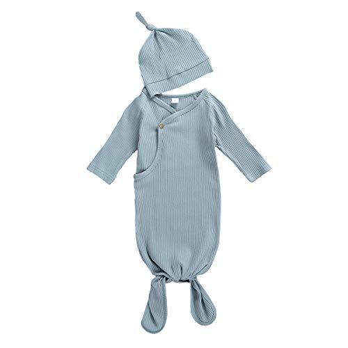 Newborn Infant Baby Girl Boy Gowns Sleeping Bag Pajamas Coming...