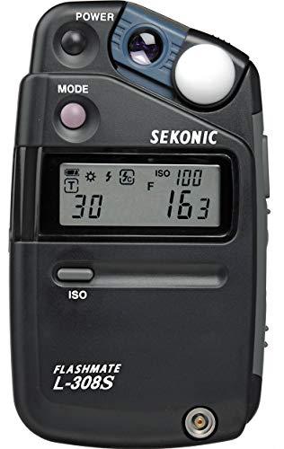 Sekonic SE L308S - Fotómetro, Color Negro