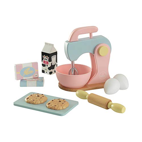 Kidkraft 63371 Pastel - Set Impastatrice con Accessori, in Legno, per Bambini, Multicolore (Pastello)