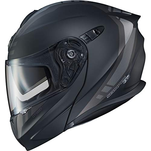ScorpionEXO EXO-GT920 Unit Adult Street Motorcycle Helmet - Matte Black/Dark Grey/X-Large