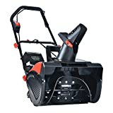 PowerSmart Snow Blower, 18-INCH Cordless Snow Blower, 40V 4.0 Ah Lithium-Ion Battery Powered Snow Blower, Electric Snow Thrower 180°Chute Rotation Up to 30-Feet, DB2401