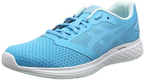 Asics Patriot 10, Women's Running Shoes, Blue (Aquarium/White 400), 4.5 UK (37.5 EU)