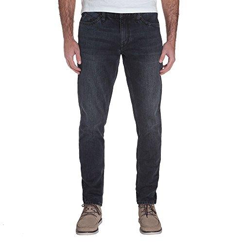 Volcom Vorta Tapered Pantaloni Jeans, Uomo, Uomo, A1931601_32, Blu (Blue Black), 32