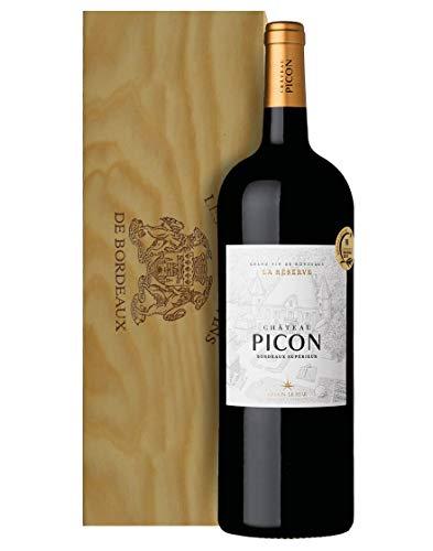 Bordeaux Suprieur AOC La Rserve Chteau Picon 2016 Magnum 1,5 L, Cassetta di legno