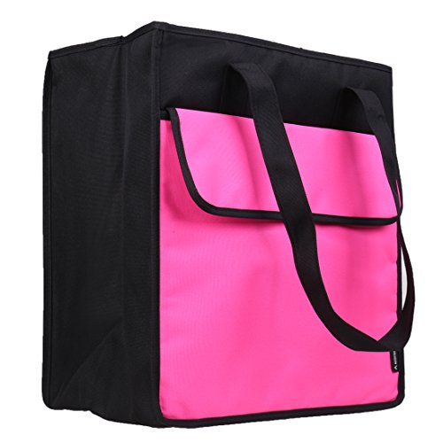 Avery Barn Adult Insulated Cooler Bag for Men & Women, Soft Beverage Tote for Lunch, Golf, Groceries - Solid Pink