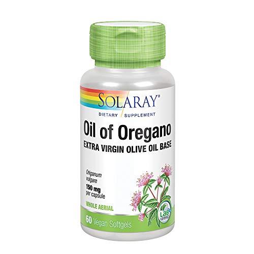 Solaray Oil of Oregano 150mg | Aceite de orégano | 60 Perla