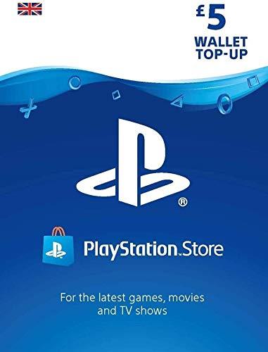 PlayStation PSN Card 5 GBP Wallet Top Up | PS5/PS4/PS3 | PSN Download Code - UK account