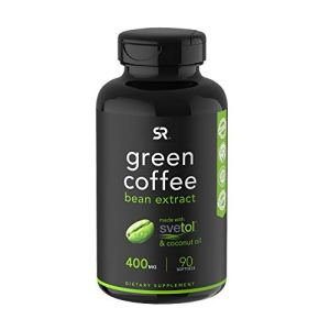 Green Coffee Bean Extract with Organic Virgin Coconut Oil ~ 90 Liquid Softgels 12 - My Weight Loss Today