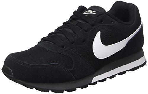 Nike MD Runner 2, Zapatillas Hombre, Negro (Black/White Anthracite), 42 EU