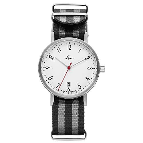 Laco Dresden Herren Armbanduhr mit Automatikwerk, Ø 40mm - Made in Germany (Herren)