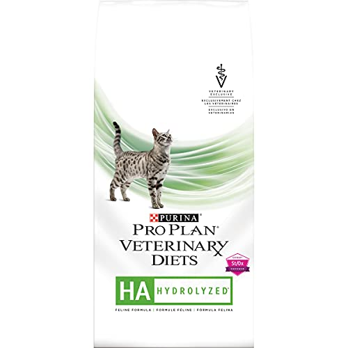 Purina Pro Plan Veterinary Diets HA Hydrolyzed Feline Formula Dry Cat Food - 4 lb. Bag