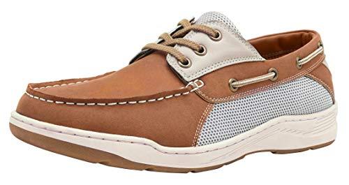 CAMEL CROWN Nauticos Hombre Verano Zapatos Casual Hombre Resistente al Desgaste Respirable Náuticos para Hombre