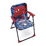 ARDITEX Chaise Pliante pour Enfant sous Licence Spiderman en métal et Tissu, 38 x 32 x 53 cm