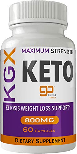 KGX Keto Pills 800 Advanced Energy Ketones with Go BHB Capsules Ketones Ketogenic Supplement for Weight Loss Pills 60 Capsules 800 MG GO BHB Salts 1