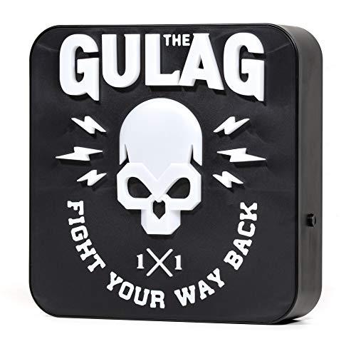Numskull NS2320 Offiziell Call Of Duty 'Gulag' Schreibtischlampe / Wandleuchte, Multicolor, Einheitsgröße