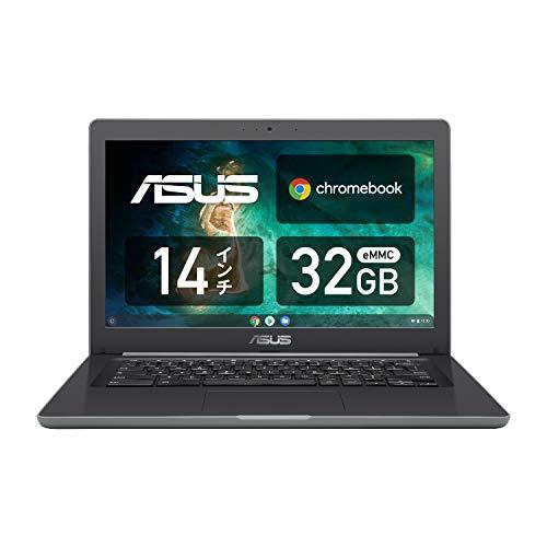 ASUS ノートパソコン Chromebook C403SA 14.0型WXGA液晶 タッチ機能なし 英語キーボード Celeron N3350 4GB...