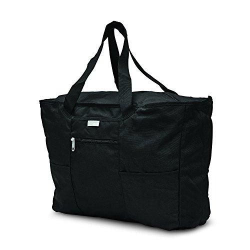 Samsonite Foldaway Packable Tote Sling Bag, Black, One Size