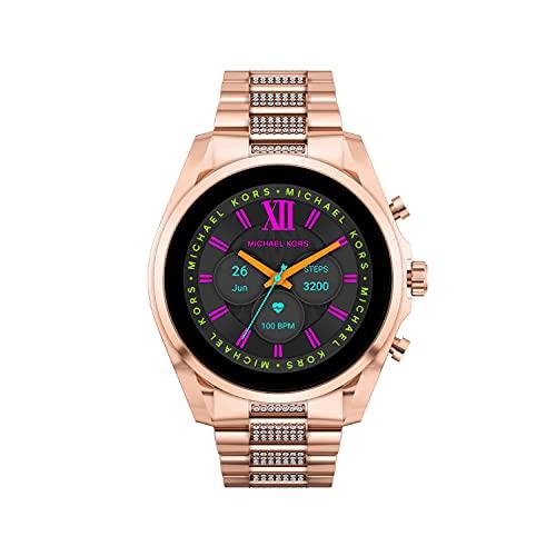 Michael Kors Gen 6 Bradshaw Stainless Steel Smartwatch, Rose...