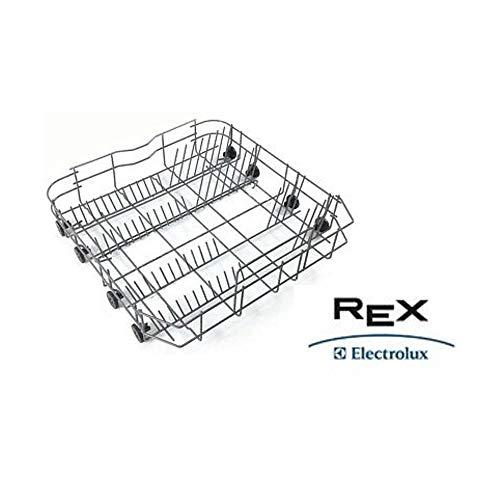 Cestello Cesto Inferiore Con Ruote Lavastoviglie Rex Electrolux Originale 8090030159