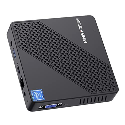 Mini PC Fanless Intel Celeron N4020 (up to 2.8GHz)...