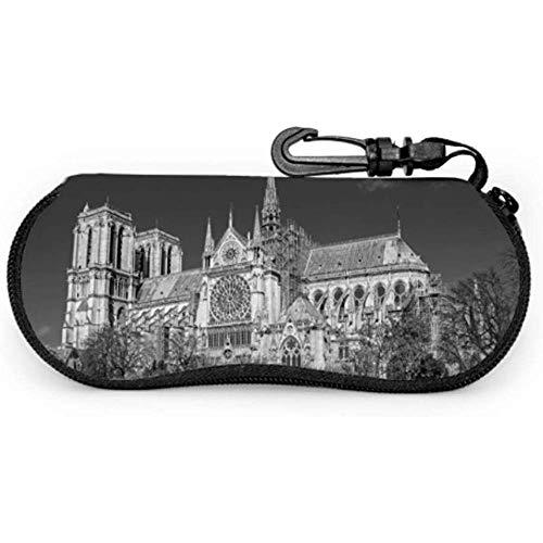 Jeffrey Toynbee Antico astuccio per occhiali Notre Dame De Paris Astucci per occhiali da ragazza...