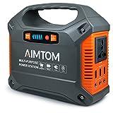 AIMTOM 42000mAh 155Wh Power Station, Emergency...