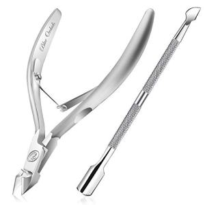 Cuticle Trimmer with Cuticle Pusher - Cuticle Remover Cuticle Nipper Professional Stainless Steel Cuticle Cutter Clipper… 19