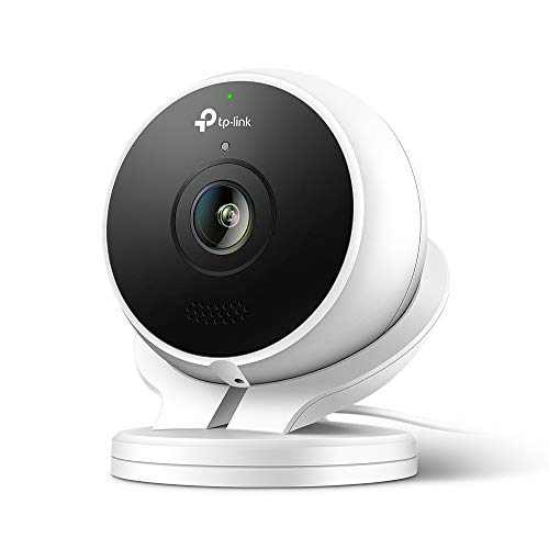 TP-Link Outdoor Telecamera di Sorveglianza WiFi KC200 (Impermeabile IP65, Sirena incorporata, 1080P, Visione Notturna, Audio Bidirezionale, Free Cloud Storage, Compatibile con Alexa e Google Home)