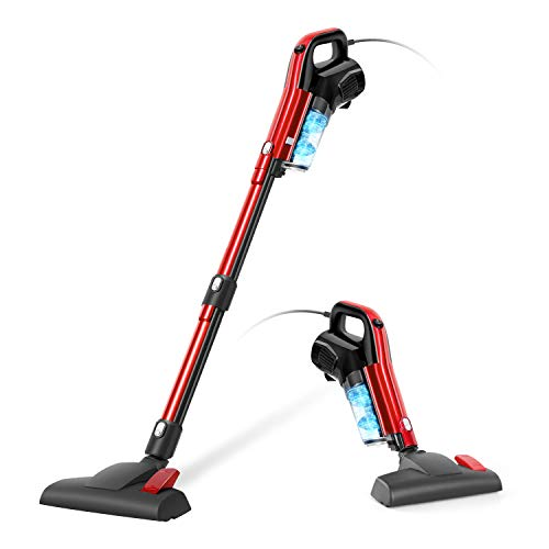 Vacuum Cleaner Corded 17000PA 3 in 1 Stick Vacuum Cleaner with HEPA Filter Lightweight for Home Hard Floor Pet GeeMo H594