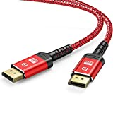 Câble DisplayPort 4K, ALCLAP Câble DP 144Hz Haute Vitesse -[4K@60Hz, 2K@165Hz,...