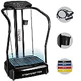 LifePro Rhythm Viberation Plate Machine - Professional Whole Body Vibration Platform for Home Fitness -...