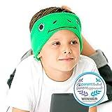 Casque Audio Enfant Modèle Grenouille Verte | Bandeau Confortable Avec Écouteurs, Léger Et Facile À Utiliser | Disponible Dans Différentes Couleurs Et Design Amusant Avec Animaux Et Dessins Animés