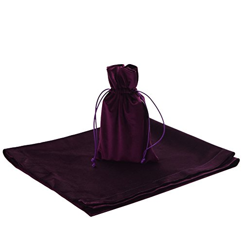 BLESSUME Tarot Divination Table Cloth and Pouch