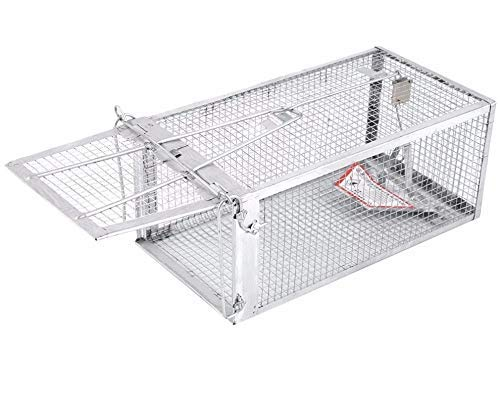 AB Traps Pro-Quality 2 Pack EZ-Set Predator Snap Trap Rats Mouse Mice Rodents Squirrels and Similar Sized Pests - Very Effective