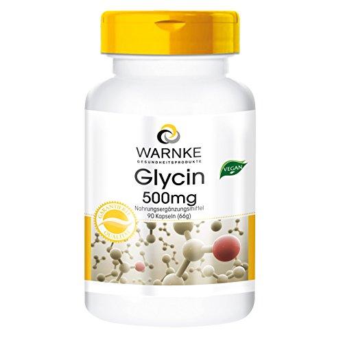 Glicina 500mg - Polvere in 90 capsule vegane