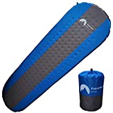 Self Inflating Sleeping Pad - Effortless Inflating - Comfortable with 1.5 inch Thick, Waterproof and...