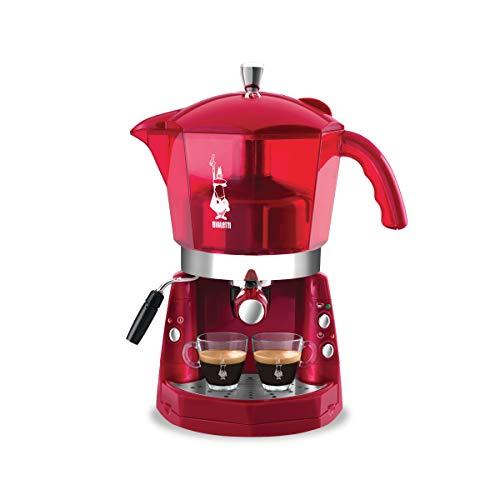 Girmi Mokona - Máquina del café, color rojo transparente