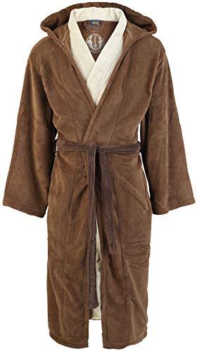 Star Wars - Albornoz Jedi , forro polar, marrón / beige, estándar