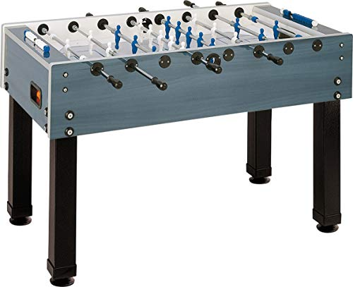 Garlando G-500 Dark Blue Weatherproof Foosball Table