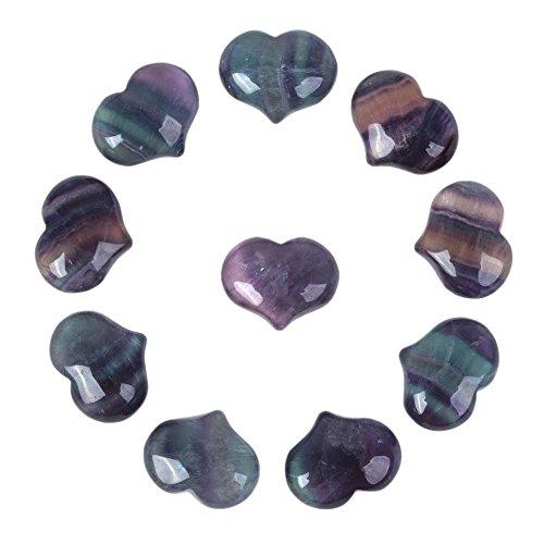 Justinstones Natural Rainbow Fluorite Gemstone Healing...