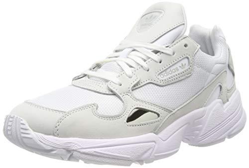 adidas Falcon, Zapatillas de Running Mujer, Cloud White/Cloud White/Crystal White, 39 1/3 EU