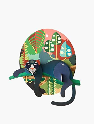Studio ROOF - Puma 3D Wall Decor, Jungle Design