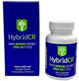 HybridCR Rapid Immune Defense by Hybrid Remedies | Pharmacist Formulated Natural Herbal Formula to Support Immune Response | Gluten-Free Natural Herbal Remedy | 30 Capsules