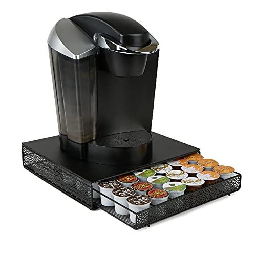 Mind Reader MTRAY-BLK Storage Drawer Coffee Pod Holder, 36...