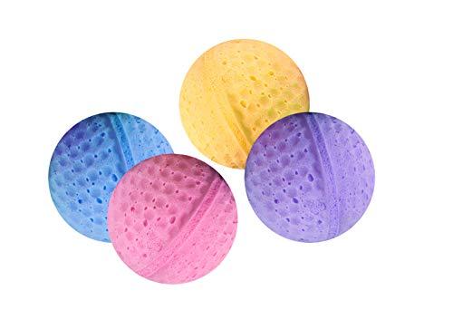 Karlie Gato Toy 4 Bolas de Esponja de 4 cm de diámetro, Bol